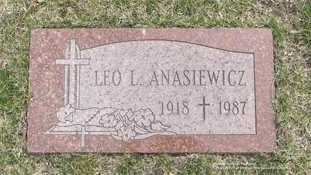 ANASIEWICZ, LEO L. - Lucas County, Ohio | LEO L. ANASIEWICZ - Ohio Gravestone Photos