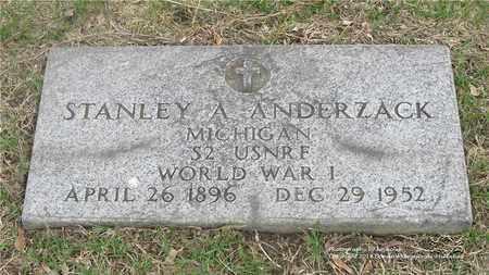 ANDERZACK, STANLEY A. - Lucas County, Ohio | STANLEY A. ANDERZACK - Ohio Gravestone Photos
