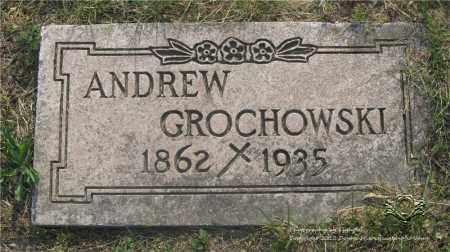 GROCHOWSKI, ANDREW - Lucas County, Ohio | ANDREW GROCHOWSKI - Ohio Gravestone Photos