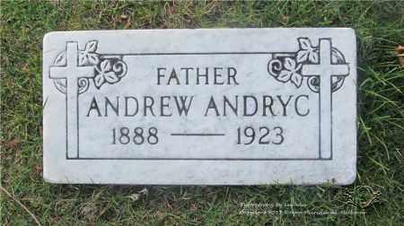 ANDRYC, ANDREW - Lucas County, Ohio | ANDREW ANDRYC - Ohio Gravestone Photos