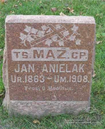 ANIELAK, JAN - Lucas County, Ohio   JAN ANIELAK - Ohio Gravestone Photos