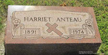 ANTEAU, HARRIET - Lucas County, Ohio | HARRIET ANTEAU - Ohio Gravestone Photos