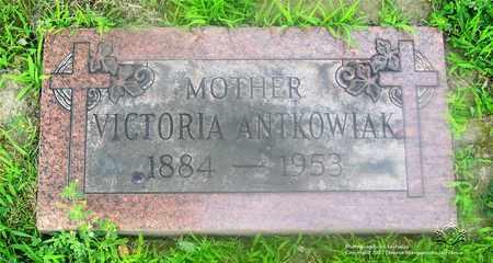 ANTKOWIAK, VICTORIA - Lucas County, Ohio | VICTORIA ANTKOWIAK - Ohio Gravestone Photos