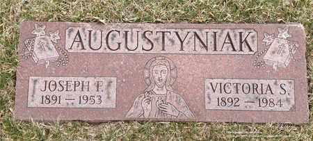 AUGUSTYNIAK, JOSEPH F. - Lucas County, Ohio | JOSEPH F. AUGUSTYNIAK - Ohio Gravestone Photos