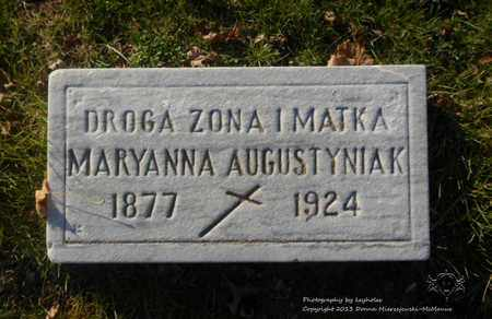 AUGUSTYNIAK, MARYANNA - Lucas County, Ohio | MARYANNA AUGUSTYNIAK - Ohio Gravestone Photos