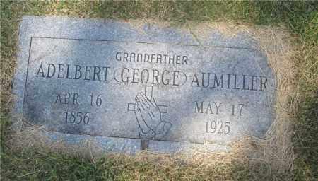 AUMILLER, ADELBERT (GEORGE) - Lucas County, Ohio | ADELBERT (GEORGE) AUMILLER - Ohio Gravestone Photos