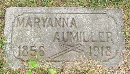 AUMILLER, MARYANNA - Lucas County, Ohio | MARYANNA AUMILLER - Ohio Gravestone Photos