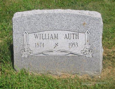 AUTH, WILLIAM - Lucas County, Ohio | WILLIAM AUTH - Ohio Gravestone Photos