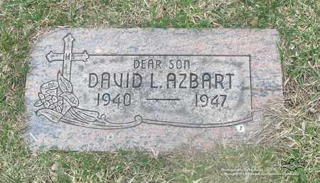 AZBART, DAVID L. - Lucas County, Ohio | DAVID L. AZBART - Ohio Gravestone Photos