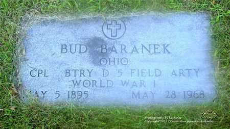 BARANEK, BUD - Lucas County, Ohio | BUD BARANEK - Ohio Gravestone Photos