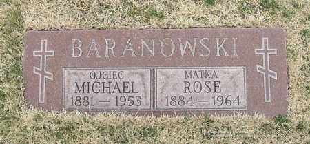 BARANOWSKI, ROSE - Lucas County, Ohio | ROSE BARANOWSKI - Ohio Gravestone Photos