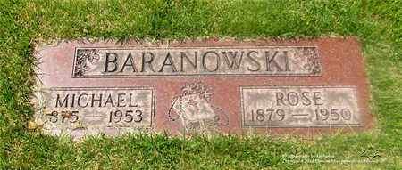 BARANOWSKI, MICHAEL - Lucas County, Ohio | MICHAEL BARANOWSKI - Ohio Gravestone Photos