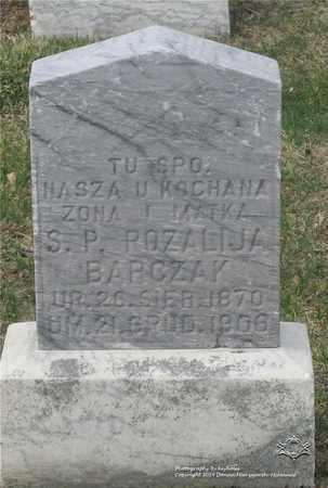 BARCZAK, ROZALIJA - Lucas County, Ohio | ROZALIJA BARCZAK - Ohio Gravestone Photos