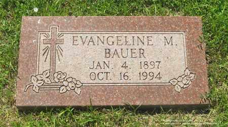 BAUER, EVANGELINE M. - Lucas County, Ohio | EVANGELINE M. BAUER - Ohio Gravestone Photos