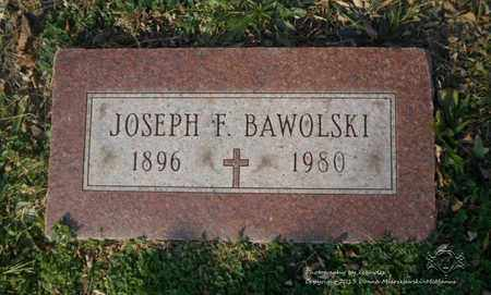BAWOLSKI, JOSEPH F. - Lucas County, Ohio | JOSEPH F. BAWOLSKI - Ohio Gravestone Photos