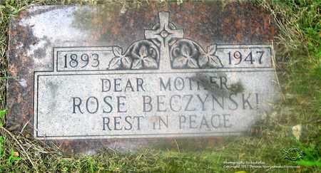DURCZYNSKI BECZYNSKI, ROSE - Lucas County, Ohio | ROSE DURCZYNSKI BECZYNSKI - Ohio Gravestone Photos