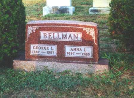 TERRIER BELLMAN, ANNA LEONA - Lucas County, Ohio | ANNA LEONA TERRIER BELLMAN - Ohio Gravestone Photos
