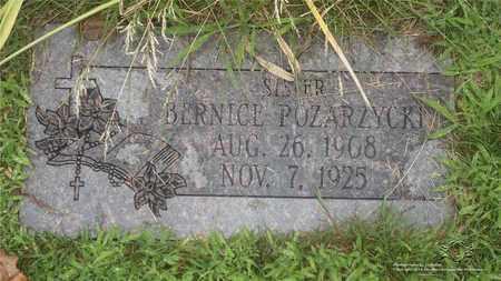POZARZYCKI, BERNICE - Lucas County, Ohio | BERNICE POZARZYCKI - Ohio Gravestone Photos