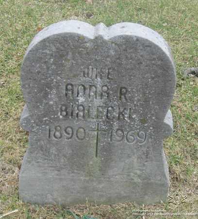 BIALECKI, ANNA R. - Lucas County, Ohio | ANNA R. BIALECKI - Ohio Gravestone Photos