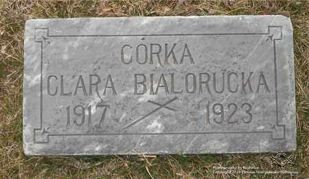 BIALORUCKA, CLARA - Lucas County, Ohio | CLARA BIALORUCKA - Ohio Gravestone Photos