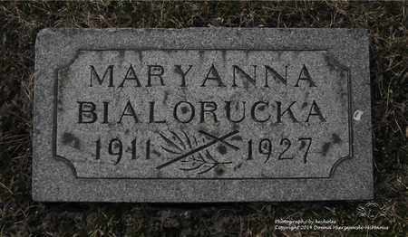 BIALORUCKA, MARYANNA - Lucas County, Ohio | MARYANNA BIALORUCKA - Ohio Gravestone Photos