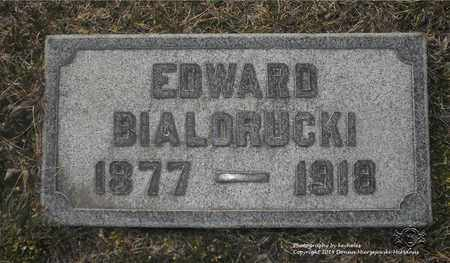 BIALORUCKI, EDWARD - Lucas County, Ohio | EDWARD BIALORUCKI - Ohio Gravestone Photos