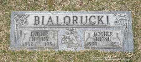 MARAS BIALORUCKI, ROSE - Lucas County, Ohio | ROSE MARAS BIALORUCKI - Ohio Gravestone Photos