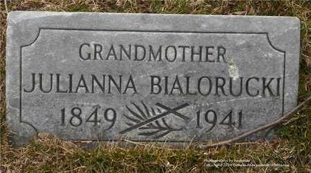 BIALORUCKI, JULIANNA - Lucas County, Ohio | JULIANNA BIALORUCKI - Ohio Gravestone Photos