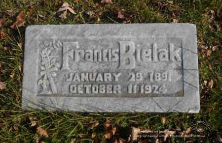 GRALAK BIELAK, FRANCIS - Lucas County, Ohio | FRANCIS GRALAK BIELAK - Ohio Gravestone Photos