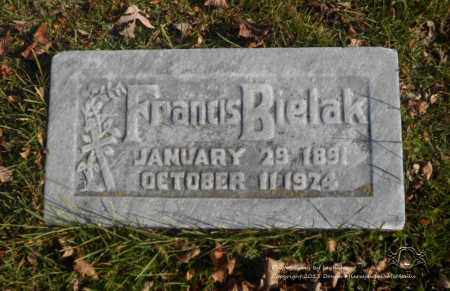 BIELAK, FRANCIS - Lucas County, Ohio | FRANCIS BIELAK - Ohio Gravestone Photos