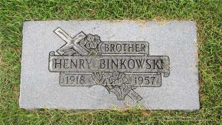 BINKOWSKI, HENRY - Lucas County, Ohio | HENRY BINKOWSKI - Ohio Gravestone Photos