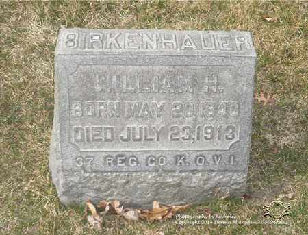 BIRKENHAUER, WILLIAM H. - Lucas County, Ohio | WILLIAM H. BIRKENHAUER - Ohio Gravestone Photos