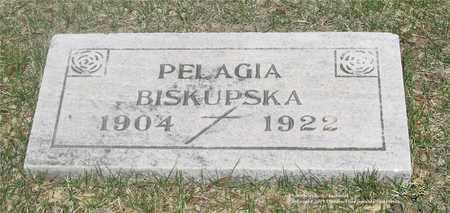 BISKUPSKA, PELAGIA - Lucas County, Ohio | PELAGIA BISKUPSKA - Ohio Gravestone Photos