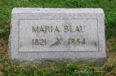 BLAU, MARIA - Lucas County, Ohio | MARIA BLAU - Ohio Gravestone Photos