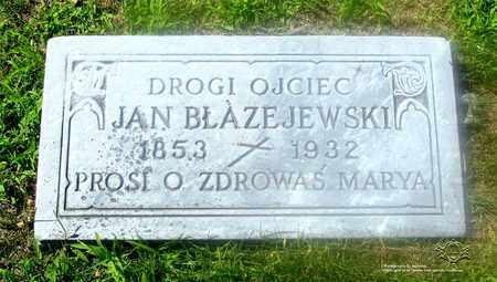 BLAZEJEWSKI, JAN - Lucas County, Ohio | JAN BLAZEJEWSKI - Ohio Gravestone Photos