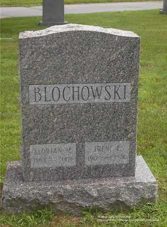 BLOCHOWSKI, IRENE F. - Lucas County, Ohio | IRENE F. BLOCHOWSKI - Ohio Gravestone Photos