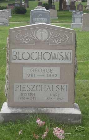 BLOCHOWSKI, GEORGE - Lucas County, Ohio | GEORGE BLOCHOWSKI - Ohio Gravestone Photos