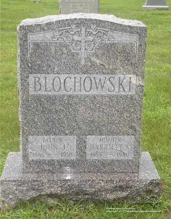 BLOCHOWSKI, HARRIET A. - Lucas County, Ohio | HARRIET A. BLOCHOWSKI - Ohio Gravestone Photos