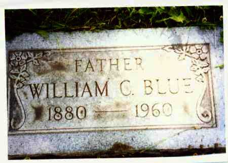 BLUE, WILLIAM - Lucas County, Ohio | WILLIAM BLUE - Ohio Gravestone Photos