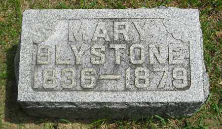 BLYSTONE, MARY - Lucas County, Ohio | MARY BLYSTONE - Ohio Gravestone Photos