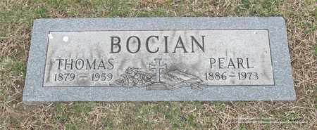 BOCIAN, THOMAS - Lucas County, Ohio | THOMAS BOCIAN - Ohio Gravestone Photos