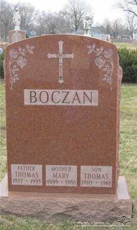 BOCZAN, THOMAS - Lucas County, Ohio | THOMAS BOCZAN - Ohio Gravestone Photos