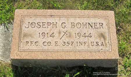 BOHNER, JOSEPH G. - Lucas County, Ohio | JOSEPH G. BOHNER - Ohio Gravestone Photos