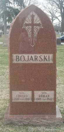 BOJARSKI, EDWARD - Lucas County, Ohio | EDWARD BOJARSKI - Ohio Gravestone Photos