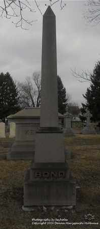 BOND, FAMILY MONUMENT - Lucas County, Ohio | FAMILY MONUMENT BOND - Ohio Gravestone Photos