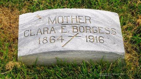 BORGESS, CLARA - Lucas County, Ohio | CLARA BORGESS - Ohio Gravestone Photos