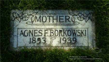 BORKOWSKI, AGNES - Lucas County, Ohio | AGNES BORKOWSKI - Ohio Gravestone Photos