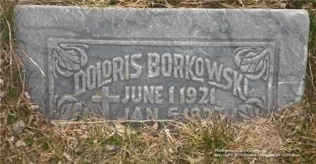BORKOWSKI, DOLORIS - Lucas County, Ohio | DOLORIS BORKOWSKI - Ohio Gravestone Photos