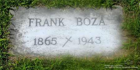 BOZA, FRANK - Lucas County, Ohio | FRANK BOZA - Ohio Gravestone Photos
