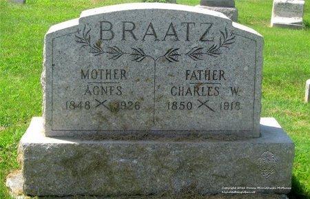 BRAATZ, CHARLES W. - Lucas County, Ohio | CHARLES W. BRAATZ - Ohio Gravestone Photos